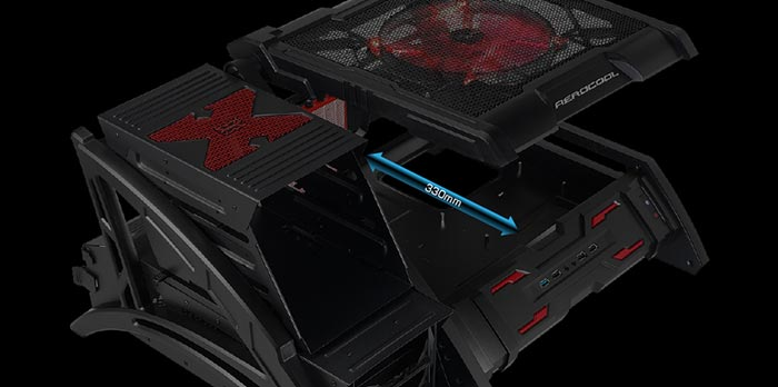 کیس گیمینگ Aerocool Strike-X Air